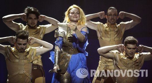 Представительница Молдавии певица Кристина Скарлат