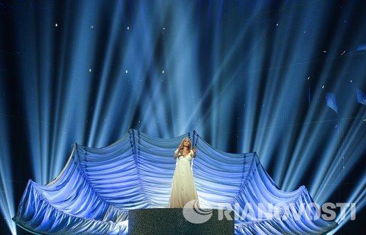 Представительница Сан-Марино певица Валентина Монетта