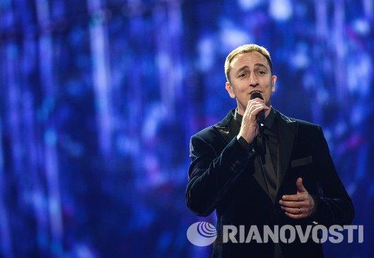 Представитель Черногории певец Сергей Четкович