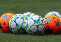 Мячи. Тренировка ФК Реал. Архивное фото