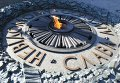 Торжественная церемония возложения цветов к памятнику Славы в Киеве