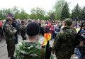 Празднование 9 мая в Славянске