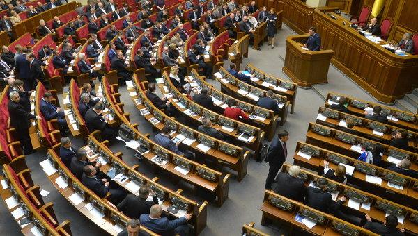 Рада готова рассмотреть законодательный проект огастролерах изРФ