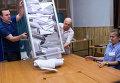 Подсчет голосов на выборах президента Украины