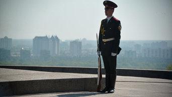 Празднование Дня Победы в Киеве