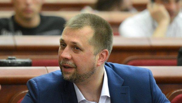 Утвержденный в должности премьер-министра Донецкой народной республики Александр Бородай