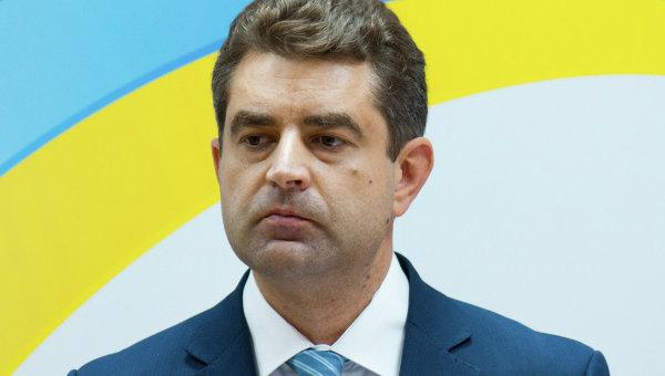 Директор департамента информполитики МИД Украины Евгений Перебийнис