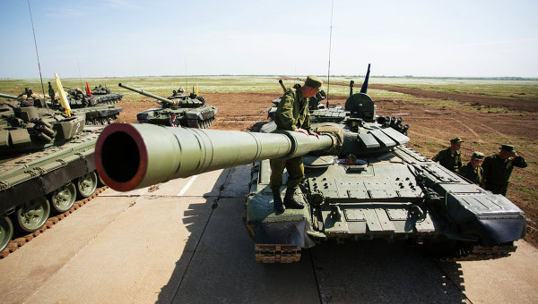 Военные учения ВС РФ. Архивное фото