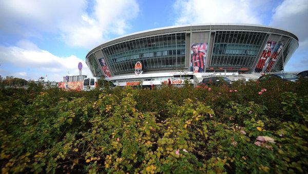 Здание стадиона Донбасс Арена в Донецке