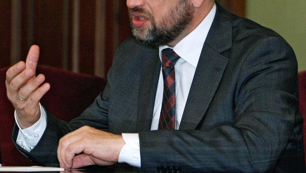 Глава Европарламента Мартин Шульц