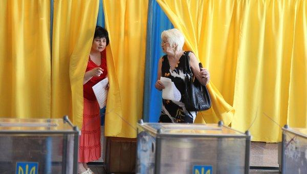 Выборы президента Украины. Архивное фото