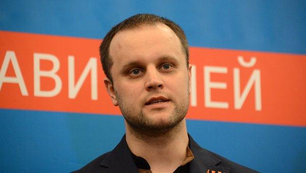 Народный губернатор Донецкой области Павел Губарев