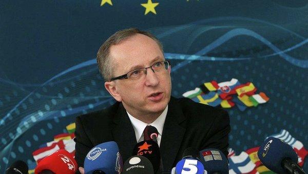 Глава представительства ЕС в Украине Ян Томбинский