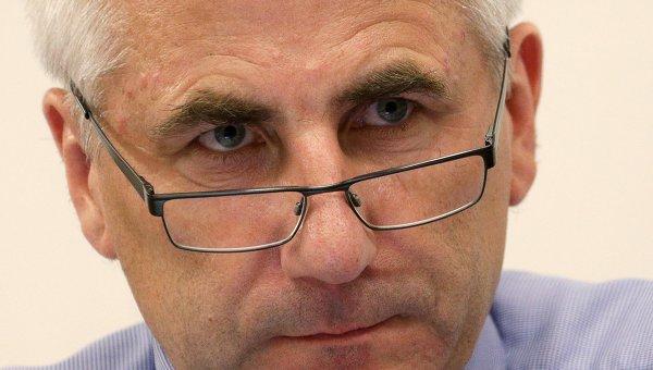 Глава представительства Евросоюза в России В. Ушацкас