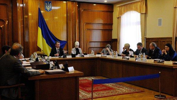 Заседание ЦИК Украины. Архивное фото