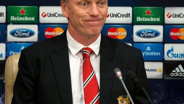 Главный тренер ФК Манчестер Юнайтед Дэвид Мойес.