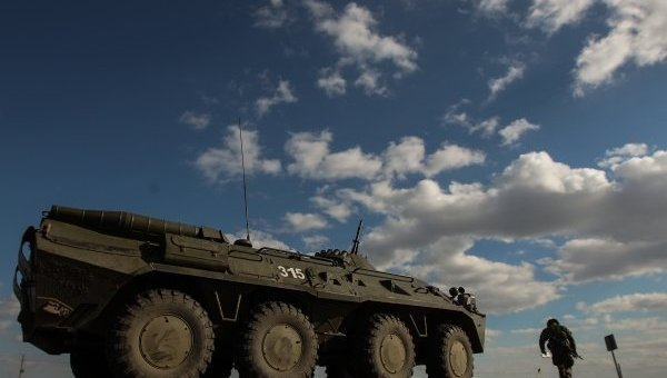 Боевая техника украинских военных. Архивное фото