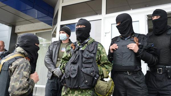Сторонники Народного ополчения Донбасса