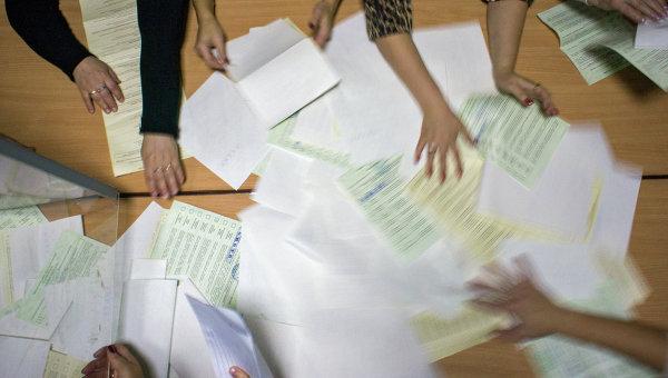 Подcчет голосов. Архивное фото