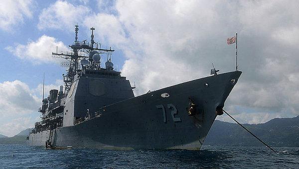 Крейсер ВМС США Велла Галф