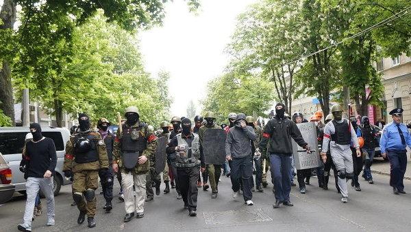 Ситуация в Одессе. 2 мая 2014