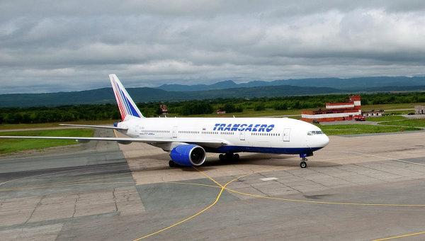 Боинг 777-200 авиакомпании Трансаэро