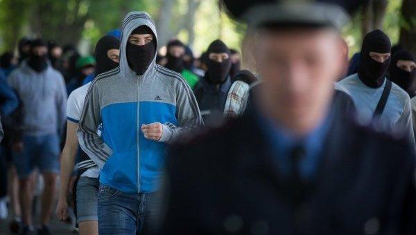 Ультрас киевского Динамо