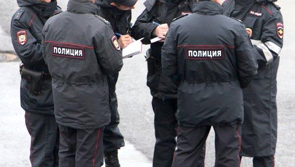 Сотрудники полиции России