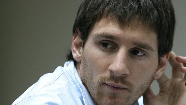 Нападающий команды Барселона Лионель Месси