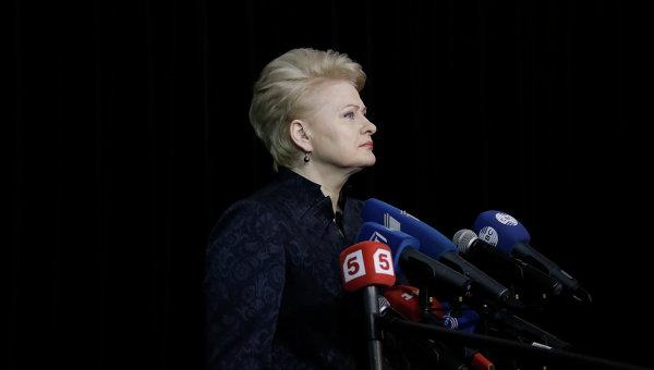 Президент Литвы Даля Грибаускайте - саммите Восточного партнерства