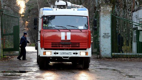 Пожарная машина. Архивное фото