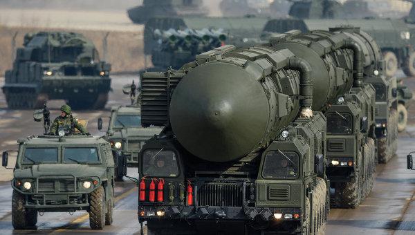 Установка межконтинентальных баллистических ракет Тополь-М