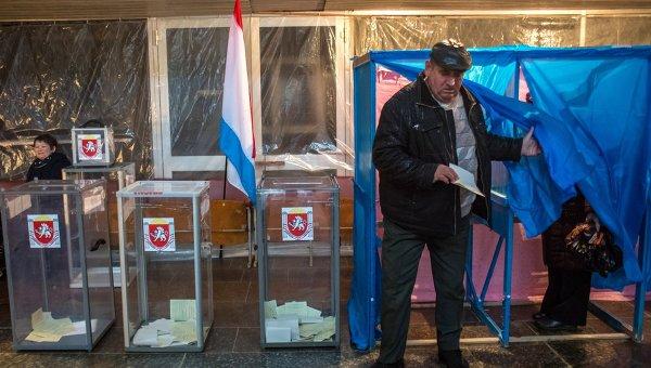 Референдум о статусе Крыма в Джанкойском районе