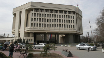 Здание Госсовета Крыма