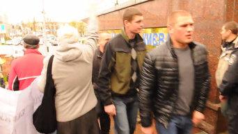 Митинг в поддержку бойцов спецподразделения Беркут в Киеве
