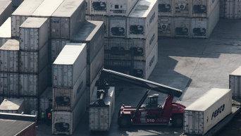 Торговый порт. Архивное фото
