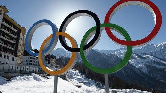 Главная горная Олимпийская деревня