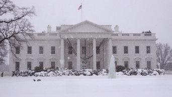 Здание Белого дома в Вашингтоне