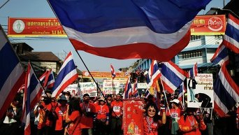 Антиправительственные протесты в Бангкоке. Архивное фото