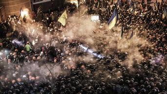 Во время Евромайдана