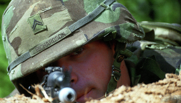 Учения с участием американских военнослужащих. Архивное фото