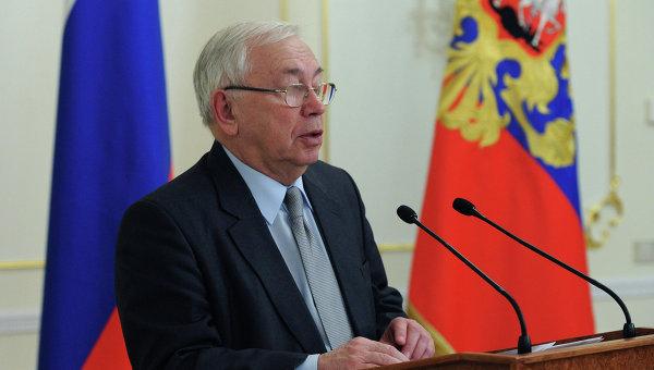 Уполномченный по правам человека в РФ Владимир Лукин