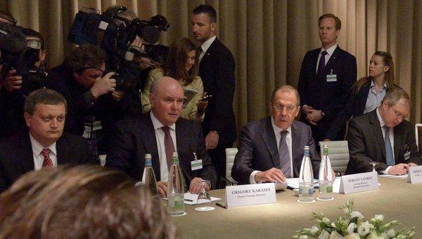 Встреча в Женеве. 17 апреля 2014