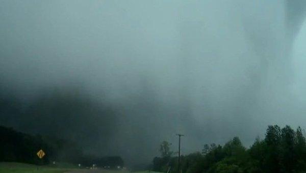 Торнадо обрушился на штат Миссисипи