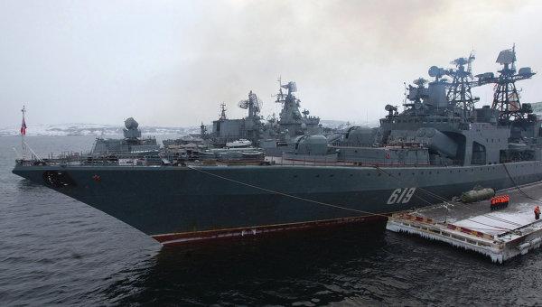 Северный флот ВМФ России. Архивное фото