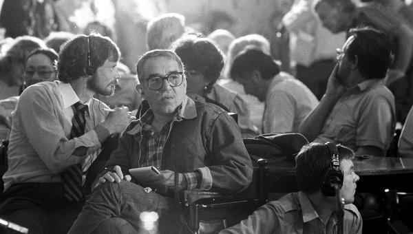 Габриэль Гарсиа Маркес. Архивное фото