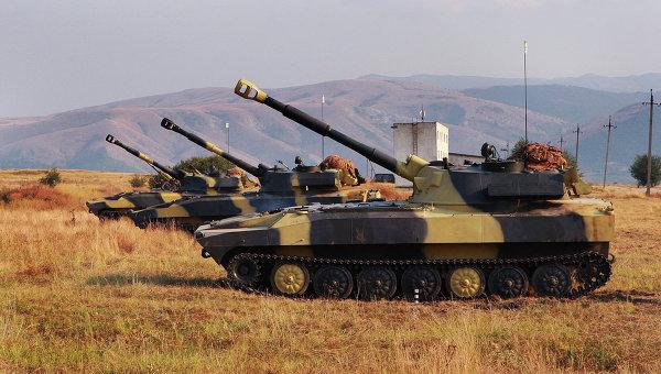 Учения воинских частей ВС Украины. Архивное фото