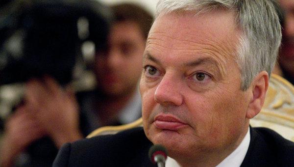 Министр иностранных дел Бельгии Дидье Рейндерс
