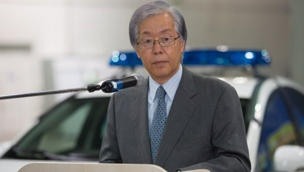 Посол Японии в Украине Тоичи Саката