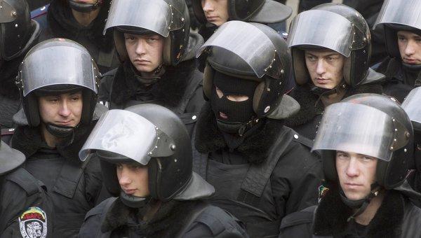Акции протеста сторонников евроинтеграции Украины